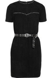 MICHAEL Michael Kors Studded suede dress