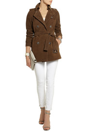 MICHAEL Michael Kors Suede trench coat