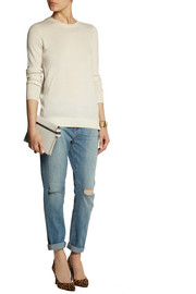 MICHAEL Michael Kors Mercerized wool and cashmere-blend sweater