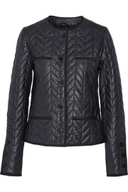 DAY Birger et Mikkelsen Merkez quilted leather jacket