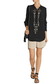 DAY Birger et Mikkelsen Zest embroidered georgette top