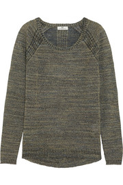 DAY Birger et Mikkelsen Metallic knitted sweater