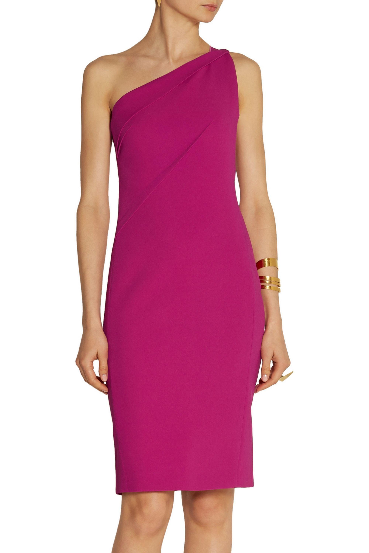 Roland Mouret Aralia stretch-crepe dress