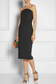 Roland Mouret Electra wool-crepe dress