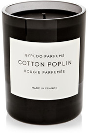 Byredo Cotton Poplin scented candle
