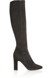 Why Not suede knee boots