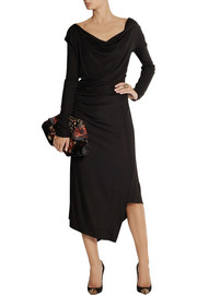 Vivienne Westwood AnglomaniaSunday draped jersey-crepe dress