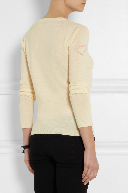 Bella Freud Kisses wool sweater