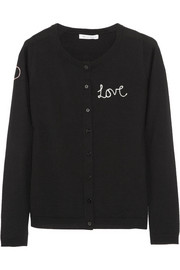 Bella Freud Love wool cardigan