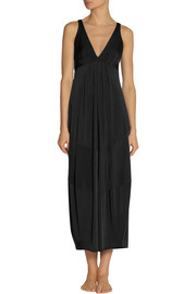 Donna Karan Sleepwear Satin-jersey nightdress