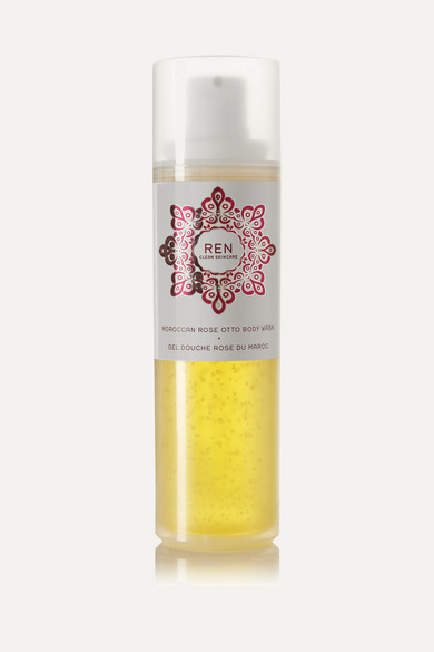 MOROCCAN ROSE OTTO BODY WASH, 200ML - COLORLESS