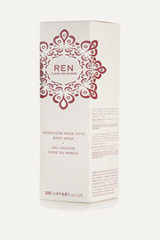 Ren Skincare Moroccan Rose Otto Body Wash, 200ml