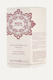 Ren Skincare Moroccan Rose Otto Bath Oil, 110ml