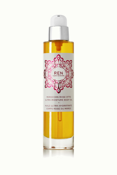 Moroccan Rose Otto Ultra Moisture Body Oil, 100ml by Ren Skincare