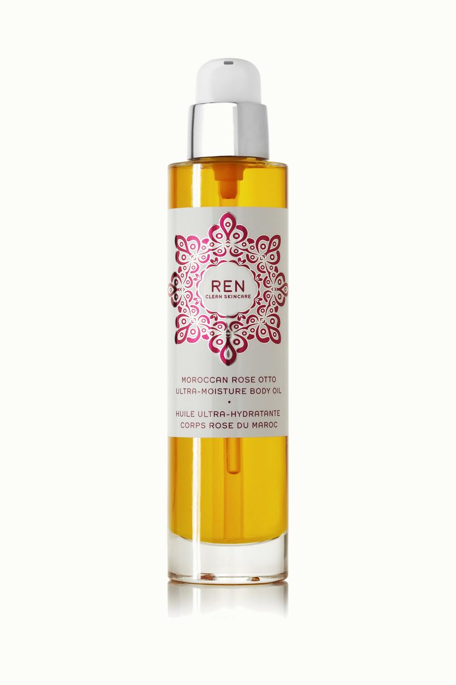 Moroccan Rose Otto Ultra-Moisture Body Oil, 100ml, by Ren Skincare