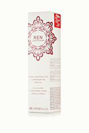 Ren Skincare Moroccan Rose Otto Ultra-Moisture Body Oil, 100ml
