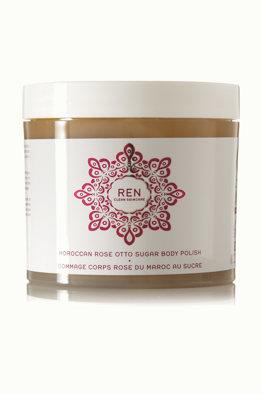 REN Clean Skincare Moroccan Rose Otto Sugar Body Polish, 330ml