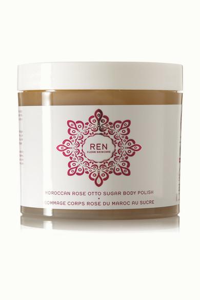 REN Skincare - Moroccan Rose Otto Sugar Body Polish, 330ml - Colorless