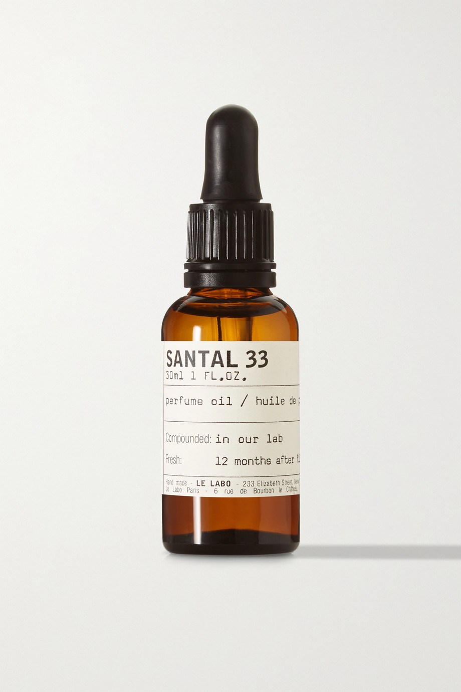 Perfume Oil - Santal 33, 30ml, by Le Labo