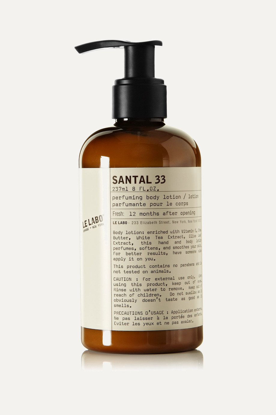 Le Labo Santal 33 Body Lotion, 237ml