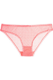 Stella McCartney Gemma Relaxing stretch-lace briefs