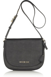Hamilton large textured-leather shoulder bag