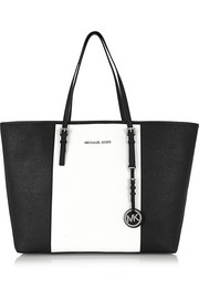 MICHAEL Michael Kors Jet Set Travel large textured-leather tote