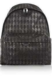 Karl Lagerfeld Printed canvas backpack