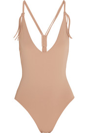 Eres Spotlight Groupie macramé-strap swimsuit
