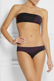 Eres Puzzle Shadow paneled bandeau bikini top