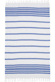 Hammamas Striped woven cotton towel