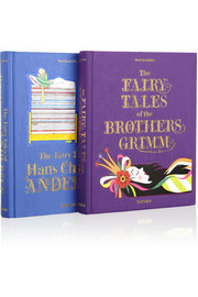 Set of two Fairy Tale books: Hans Christian Andersen and the Brothers Grimm
