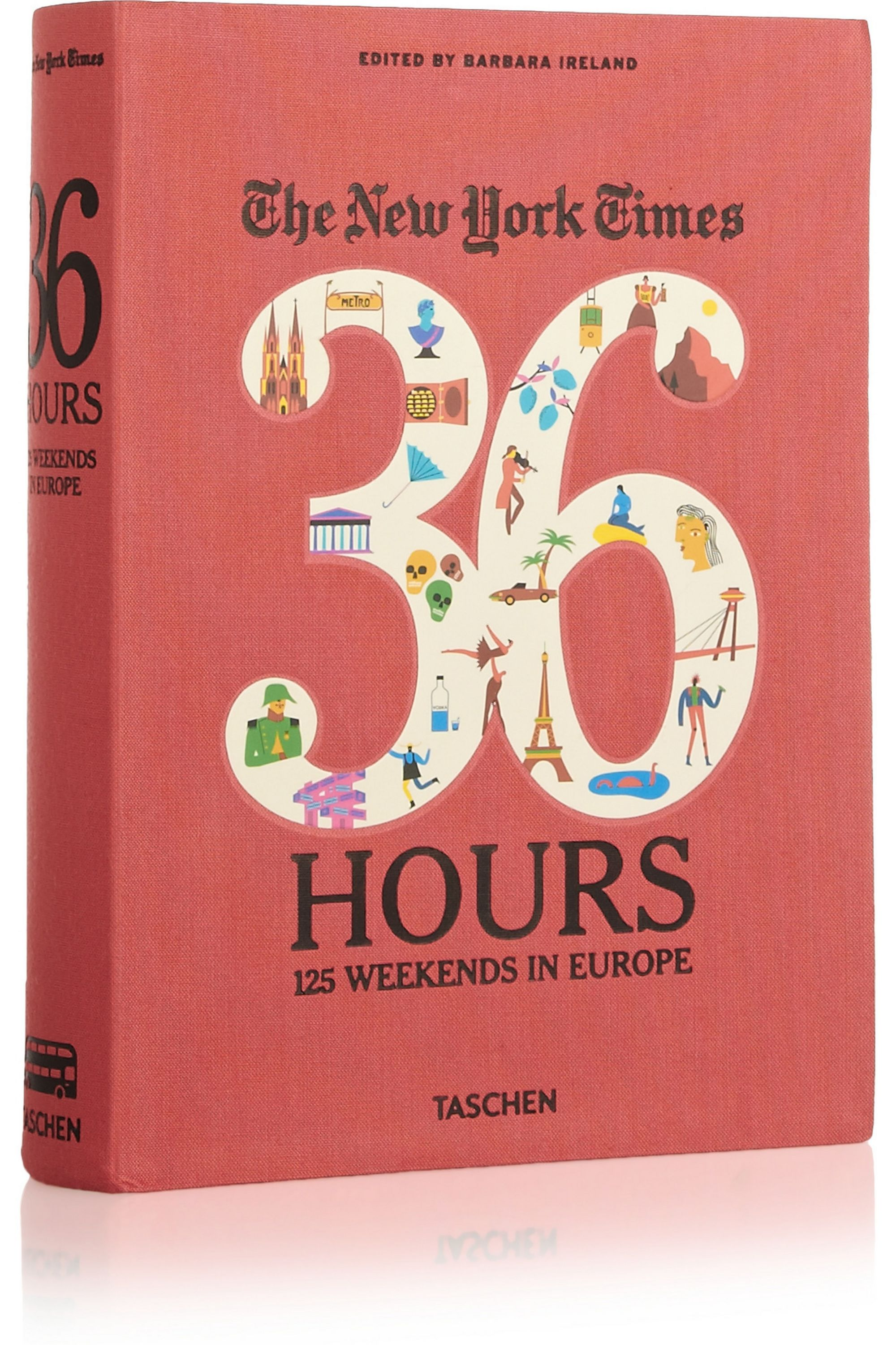Taschen Set of two travel guides: The New York Times 36 Hours In Europe and the USA & Canada