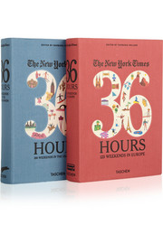 Set of two travel guides: The New York Times 36 Hours In Europe and the USA & Canada