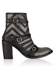 Mexicana Celine studded leather ankle boots