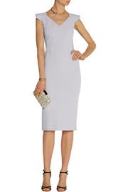 Roland Mouret Atria wool-crepe dress