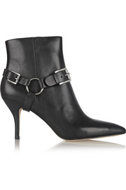 MICHAEL Michael Kors Harrison leather ankle boots
