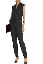 By Malene Birger Cointa wrap-effect crepe jumpsuit
