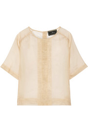 By Malene Birger Delinda silk-organza top
