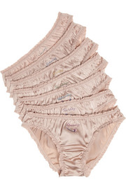 Stella McCartney Knickers of the Week set of seven briefs