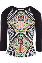 Mara Hoffman Printed stretch rash guard