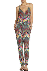 Mara Hoffman Printed stretch-modal jumpsuit