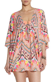 Mara Hoffman Printed stretch-modal coverup