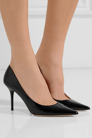 Jimmy Choo Agnes patent-leather pumps