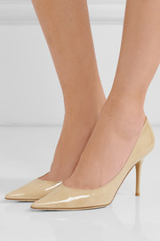 Agnes patent-leather pumps
