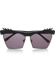 House of Holland Eyelashes square-frame acetate sunglasses