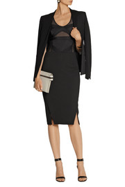 By Malene Birger Majionas stretch-jersey and mesh bodysuit