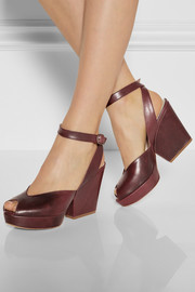 Maison Martin Margiela Leather platform sandals