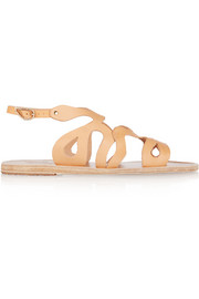 Echidna cutout leather sandals