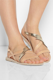 Ancient Greek Sandals Astrapi leather sandals